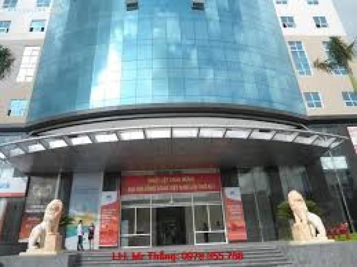 Bán gấp tòa nhà mặt phố Khuất Duy Tiến diện tích 302m2x 9 tầng, mt 15m giá 117.5 tỷ.
