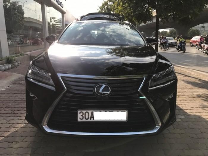 Bán Lexus RX350 Luxury Xuất Mỹ 2016 xe vừa đăng ký biển Hà Nội.