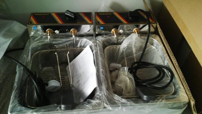 Bếp chiên nhúng điện đôi - 2 rổ 3 lít - Malaysia