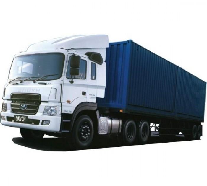 Xe đầu kéo Hyundai HD450 sức kéo theo 45 tấn