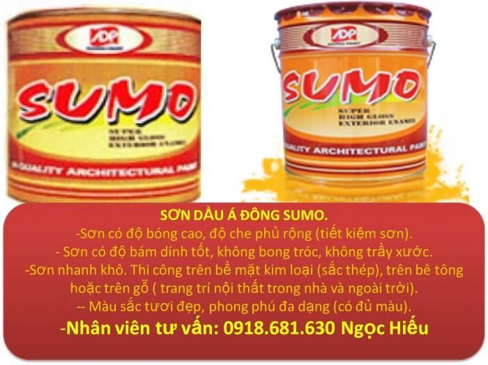 Nơi Bán Sơn Dầu Alkyd Sumo Ac 134 Thùng 18 Lít.