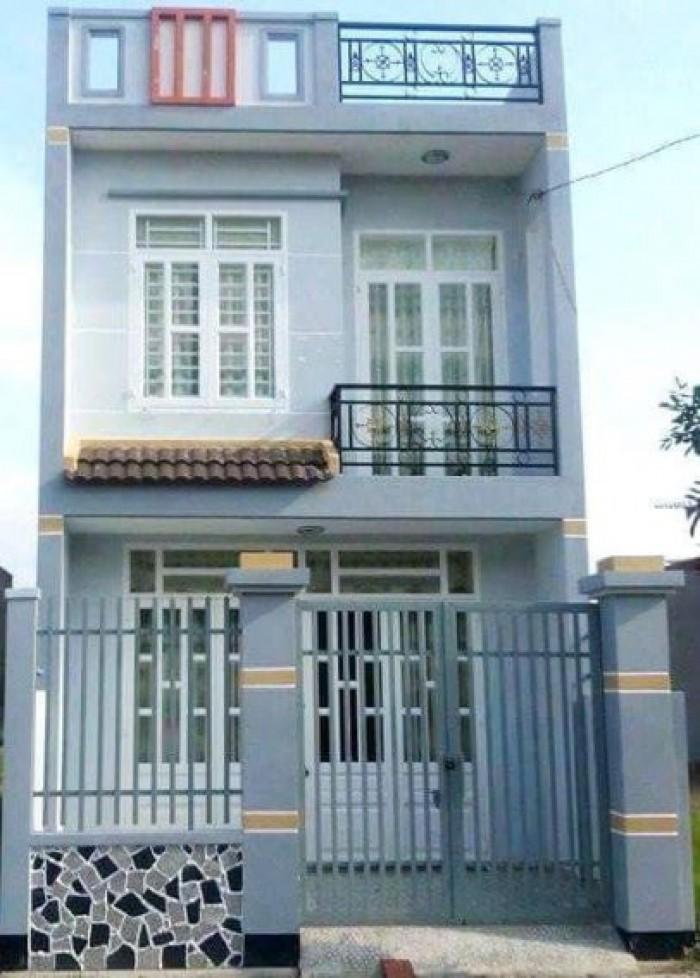 Nhà 1 trệt 1 lầu DT 5x20m SHR_ Khu tái định cư Tân Kim QL50