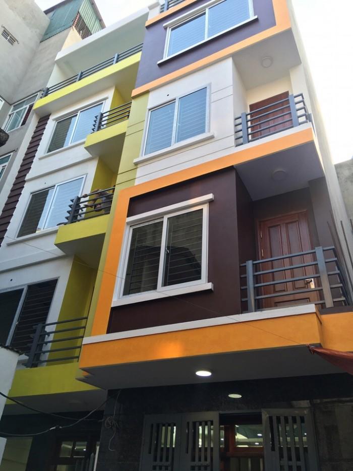 Cần bán nhà phố Trần Duy Hưng 55m x 9 tầng, mt 4m, 15.35 tỷ, kinh doanh