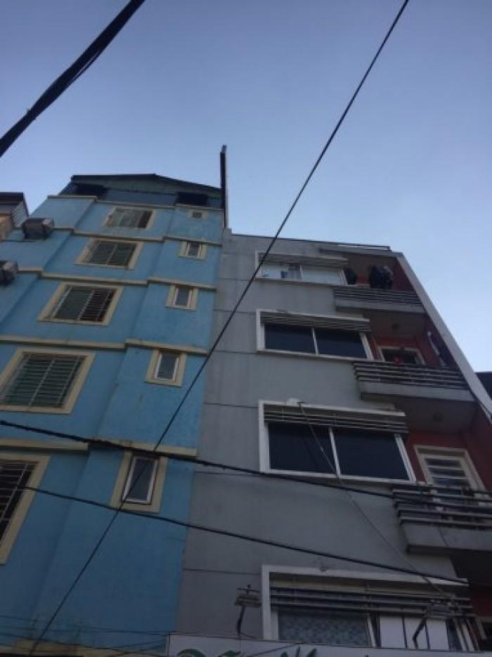 Cho thuê nhà đẹp mặt phố Hoàng Ngân, 40mx 5 tầng, MT 5m