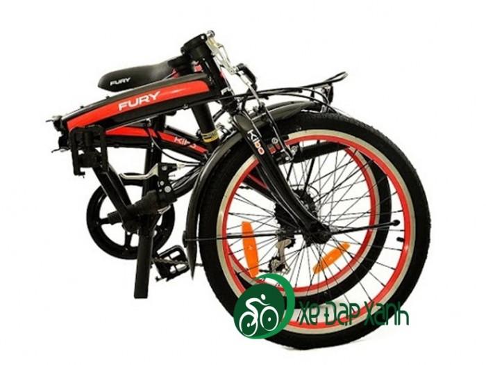 Xe đạp gấp bánh 16in có đề còn bh