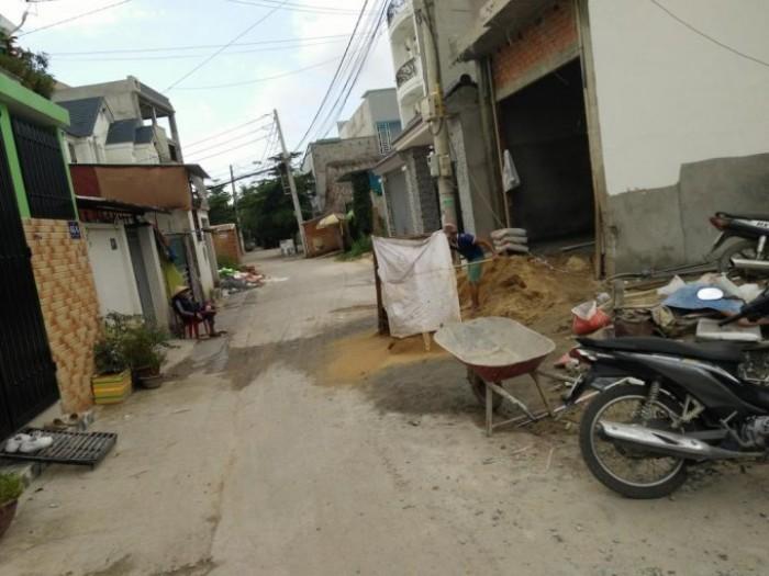 Bán đất DT 5x27m sổ hồng riêng đường An Phú Đông 09 P. An Phú Đông, Q12 giá 2,5 tỷ cách chợ 500m
