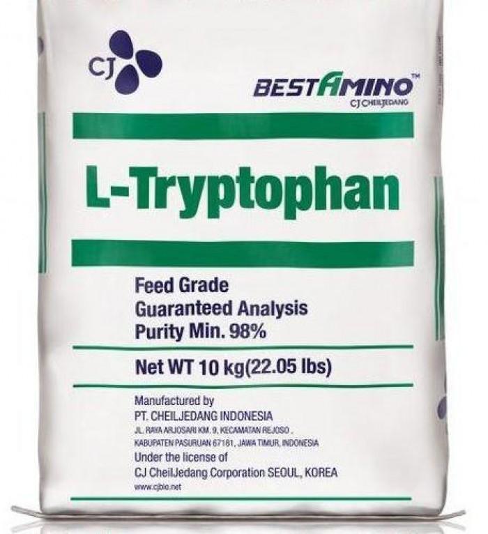 L-Trytophan, chất sản xuất thức ăn chăn nuôi, mới 100%