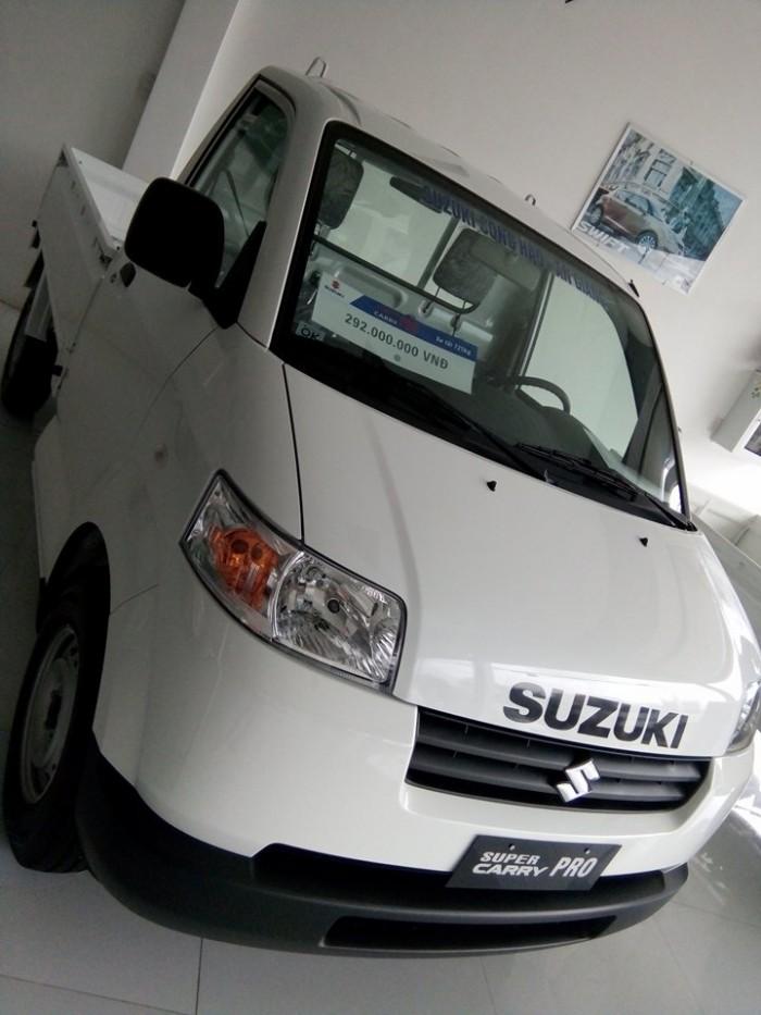 Giá sốc tháng 12/2016, khuyến mãi cực hấp dẫn khi sở hữu Suzuki Carry Pro A/C 2016 ngay hôm nay