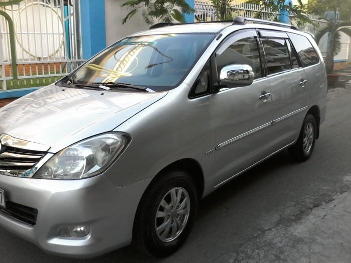 Toyota Innova sản xuất năm 2008 Số tay (số sàn) Động cơ Xăng