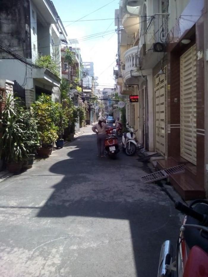 Bán nhà hẻm xe hơi hai chiều khu  281, Lê Văn Sỹ, Phường 1, Tân Bình.