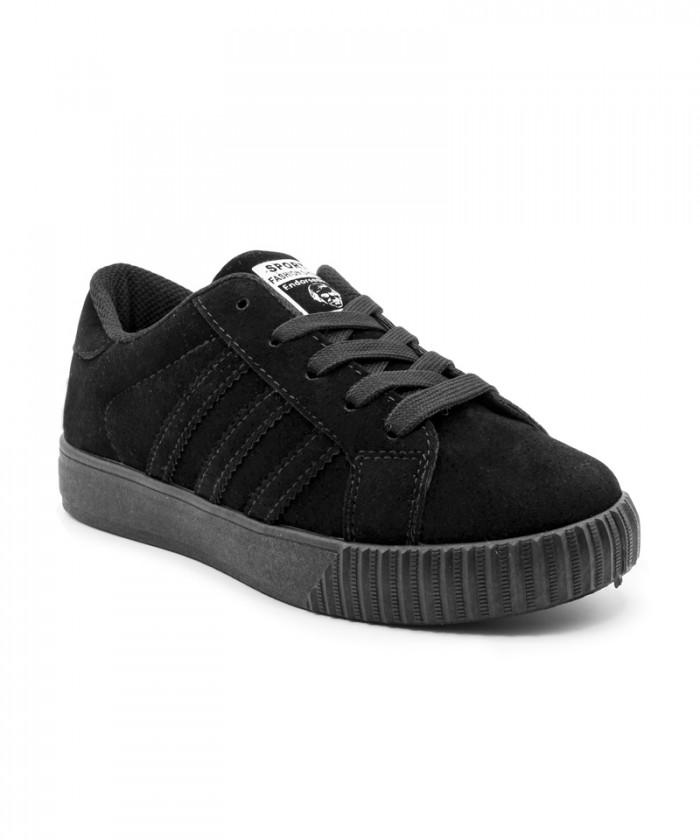 Giày nữ Sneaker đen MSN8007