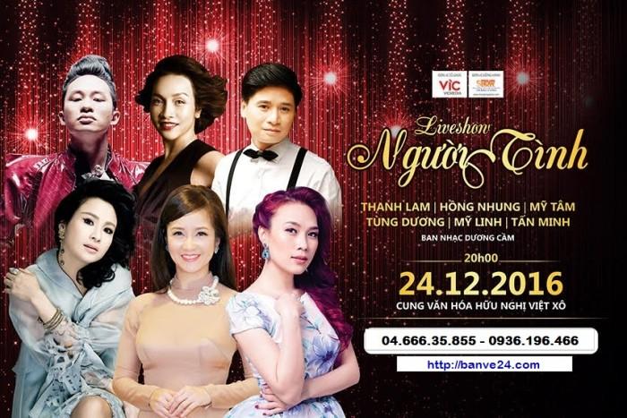 """Mua vé Liveshow """"Nguời tình"""" Thanh Lam, Hồng Nhung  ở đâu Hà Nội"""