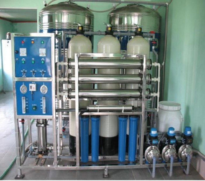 Hệ thống lọc nước Máy chạy thận nhân tạo