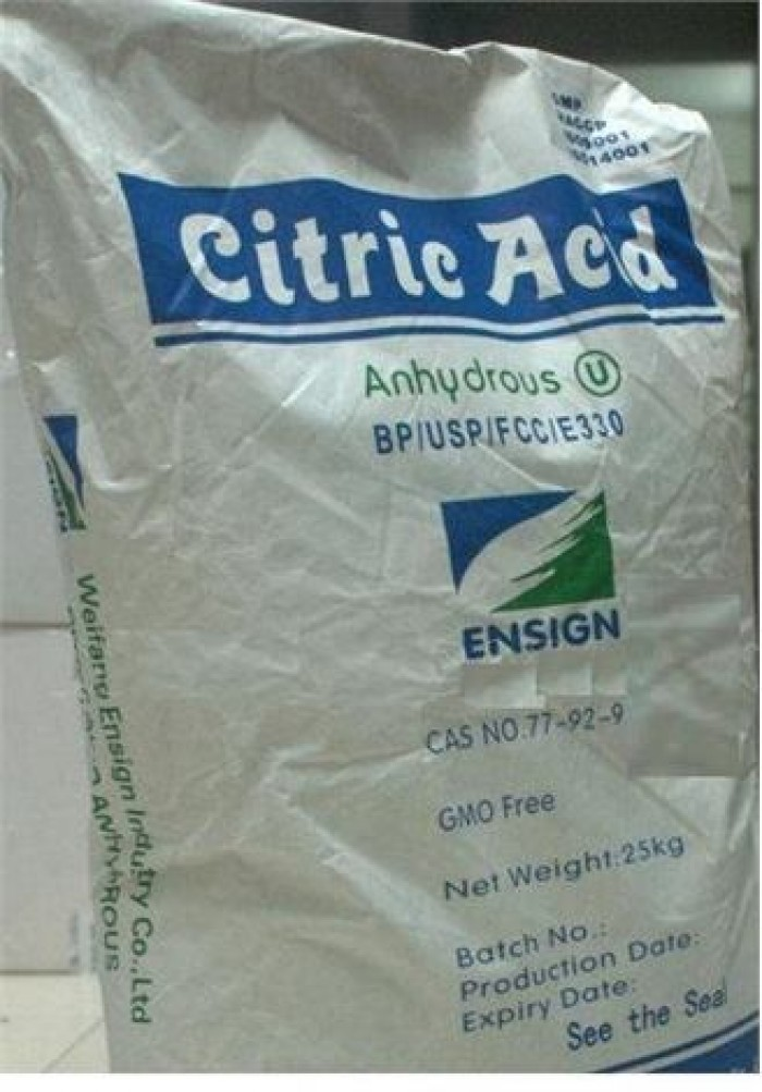 Axit citric - C6H8O7.H2O - Citric acid