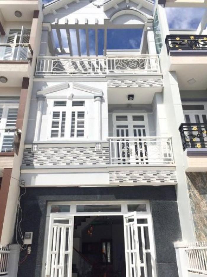 Nhà Mới 4x10, 3 tầng Huỳnh Tấn Phát, Gần cầu Phú Xuân, 1.26 tỷ thương lượng