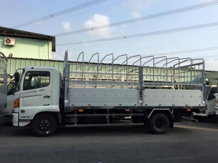 Xe tải Hino FG8JPSB, thùng mui bạt 7m3, giao ngay, bán trả góp lãi suất thấp