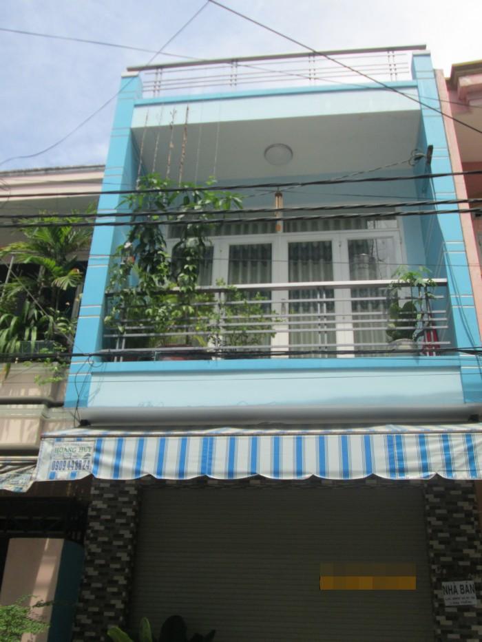 Bán Nhà Hẻm 5M Đường Nguyễn Cửu Đàm, DT: 4 x 8M, 1 Lầu, Giá: 2.18 Tỷ.