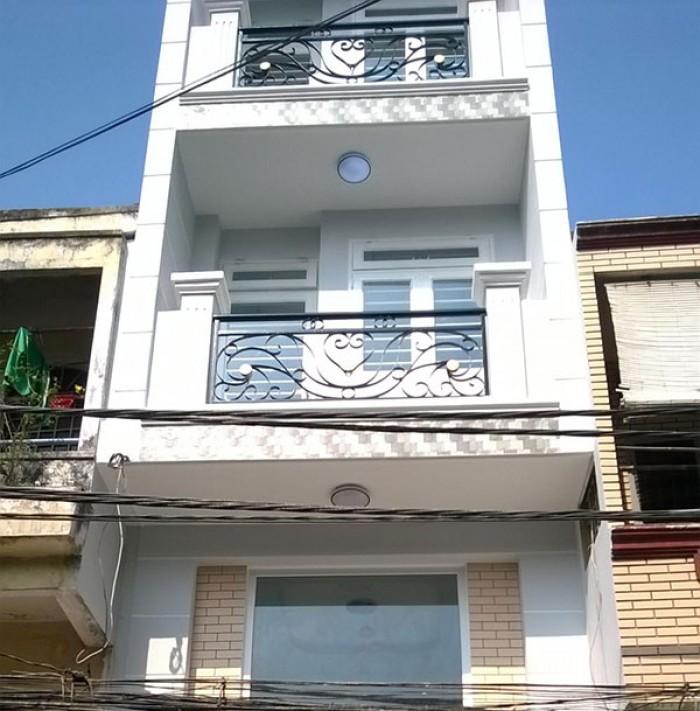 Bán gấp nhà đúc 1 lầu hẻm 5m Kênh Tân Hóa, P.Phú Trung, Quận Tân Phú. Giá 2,48 tỷ