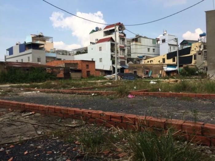 Đất chính chủ cần bán gấp DT: 48-68m2, sổ hồng riêng, ngay phường 9 Tân Bình.cách chợ Tân Bình 500m.