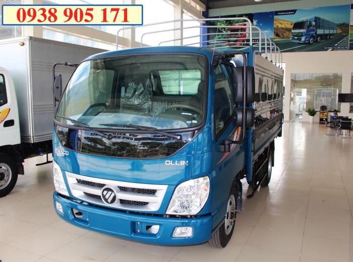 Xe tải thaco ollin345 -  2 tần 4, xe tải ollin 2 tấn 4, ollin2,4 tấn, tặng 100% thuế trước bạ