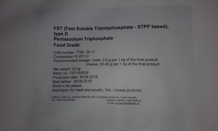 Cung cấp STPP, TSPP và các loại phụ gia cơ bản khác
