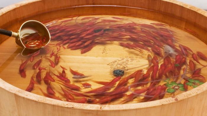 Nhựa Acrylic Resin Hàn Quốc cao cấp nhập khẩu 100% vẽ tranh cá 3D và đổ mẫu khuôn silicon