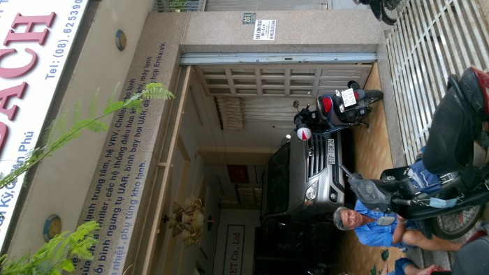 Nhà 2 Lầu mặt tiền kinh doanh Lê Trọng Tấn DT 6x9m