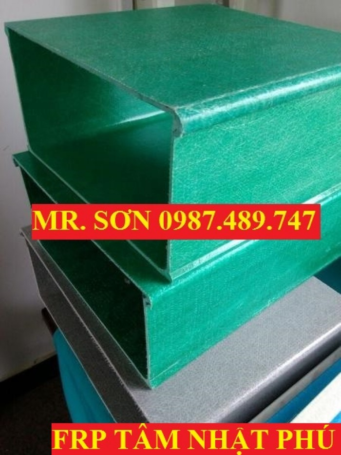 mẫu máng cáp composite, máng cáp kháng hóa chất11