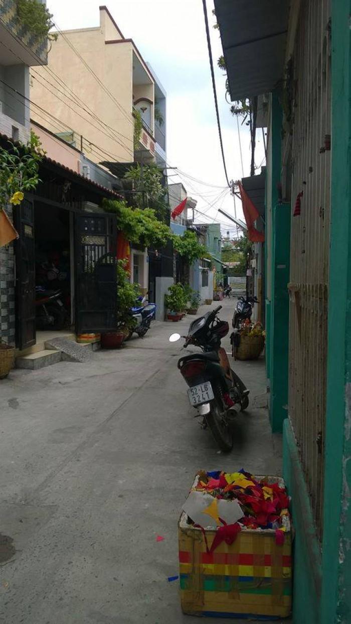 Bán nhà 2,28 tỷ,DT 3,7x10 Lê Cảnh Tuân, Phường Phú Thọ Hòa, Q.Tân Phú