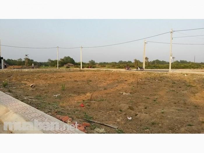 Đất nền sổ đỏ ngay KCN Tam Phước, giá 2tr7/m2