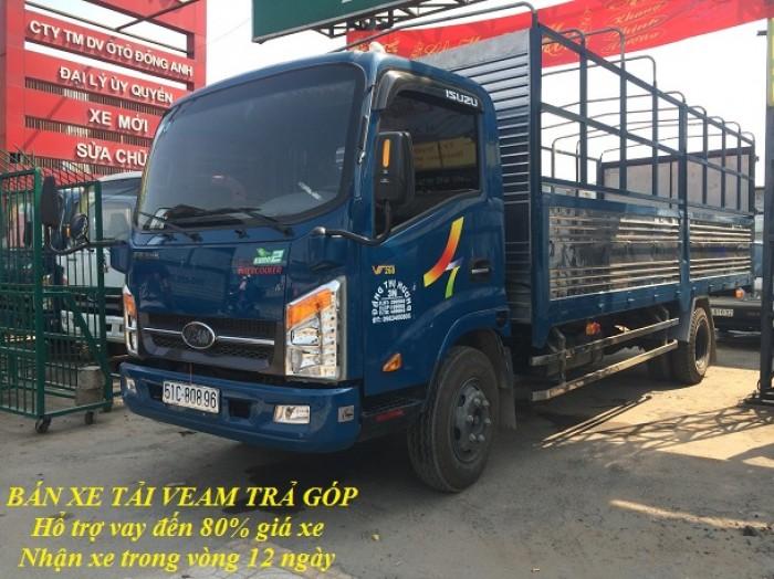 Bán xe tải Veam VT260 tải trọng 1t9, bán trả góp giá tốt