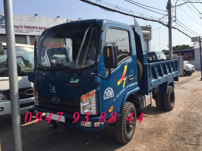Xe ben 2,3 khối VB200 động cơ Hyundai trả góp không thế chấp