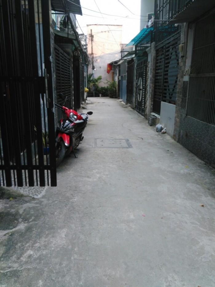 Nhà Hẻm ĐườngSố 51, phường14, GòVấp, HXH5mThông, 3.8x14.8m, 1Trệt+1LầuBTCT, 3PN,2WC, TâyNam