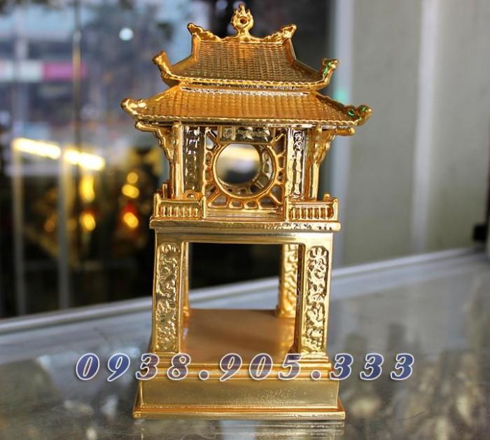 Tượng chùa 1 cột mạ vàng 12cm1