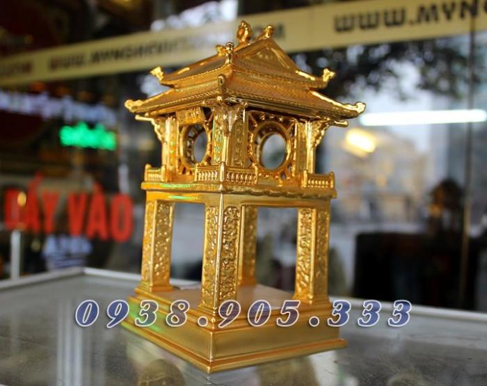 Tượng chùa 1 cột mạ vàng 12cm3