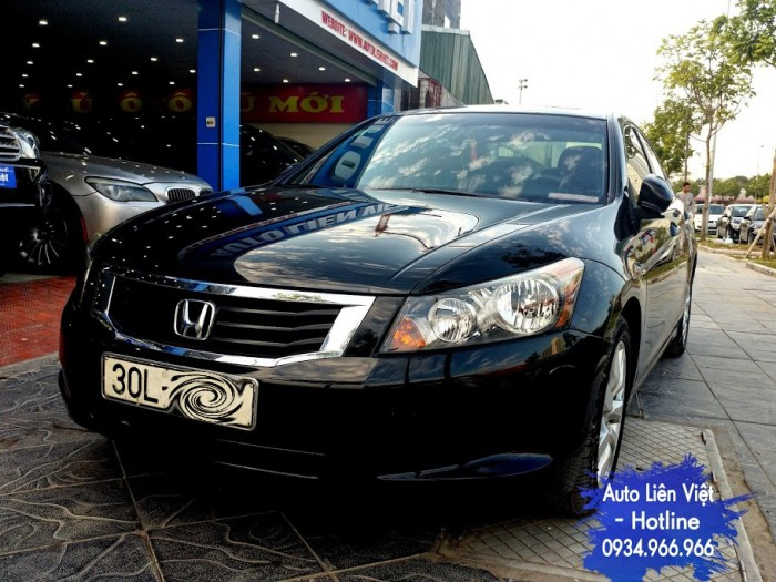 Honda Accord 2008 2.4AT nhập khẩu