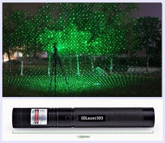 Đèn Pin Laser Pointer 303 Chiếu Cực Xa Hiệu Ứng Tuyệt Đẹp0
