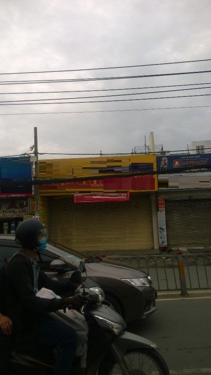 Cho thuê nhà mặt tiền Trường Chinh, p.tân sơn nhì, tân phú dt 7x50m