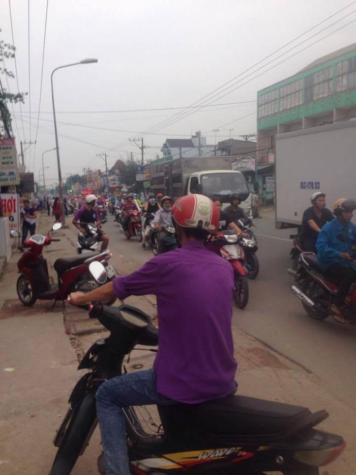 Đất nền Thuận An trên đường Thủ Khoa Huân 600tr/nền