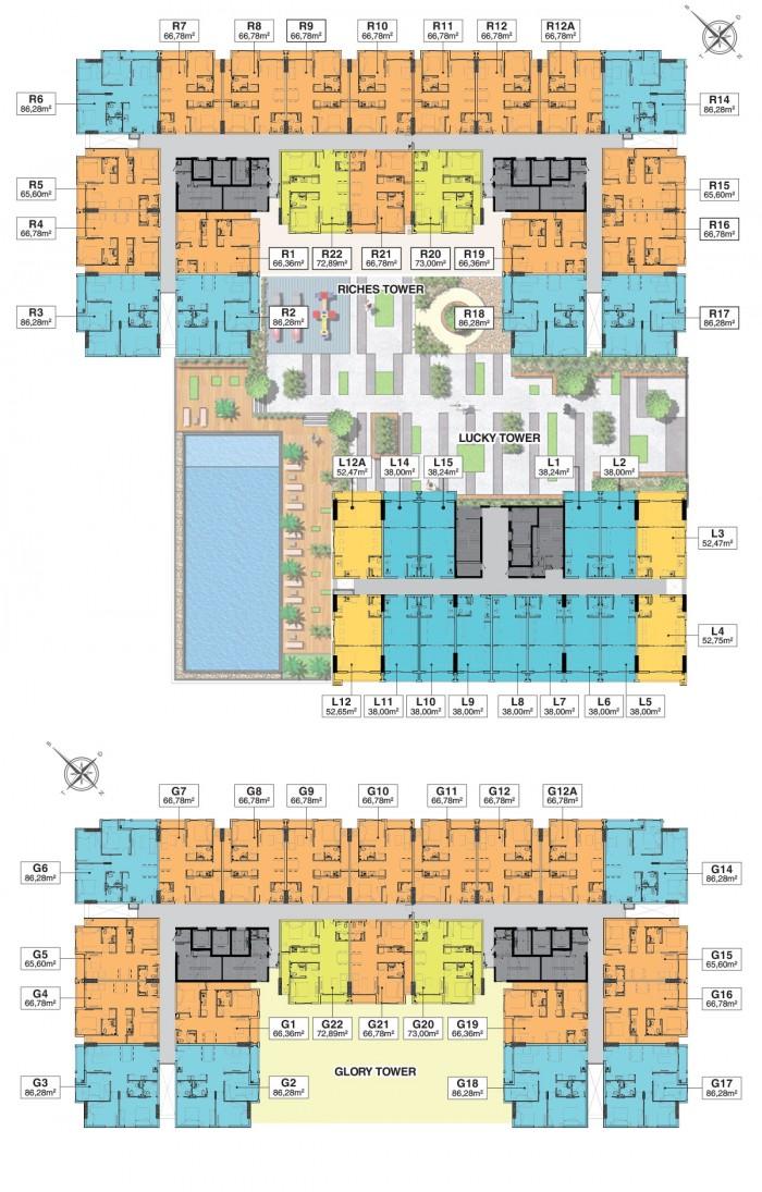 Cần bán căn hộ  giá rẻ TT Bình Thạnh MT Nguyễn Xí, Richmond City chỉ 990tr/căn
