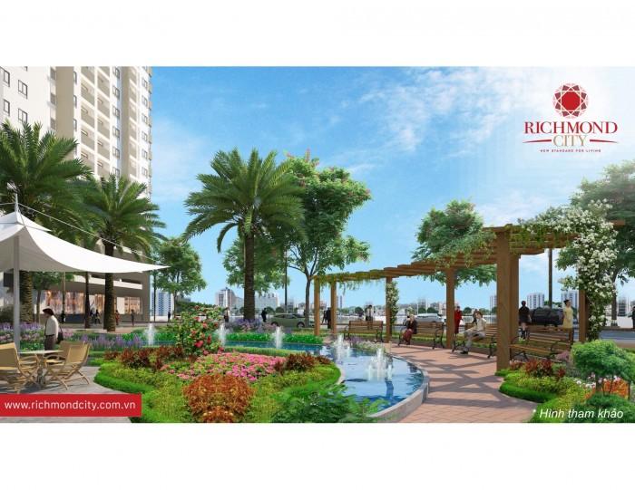 Bán căn hộ chung cư TT Bình Thạnh, Nguyễn Xí Richmond City chỉ 23,5tr/m2