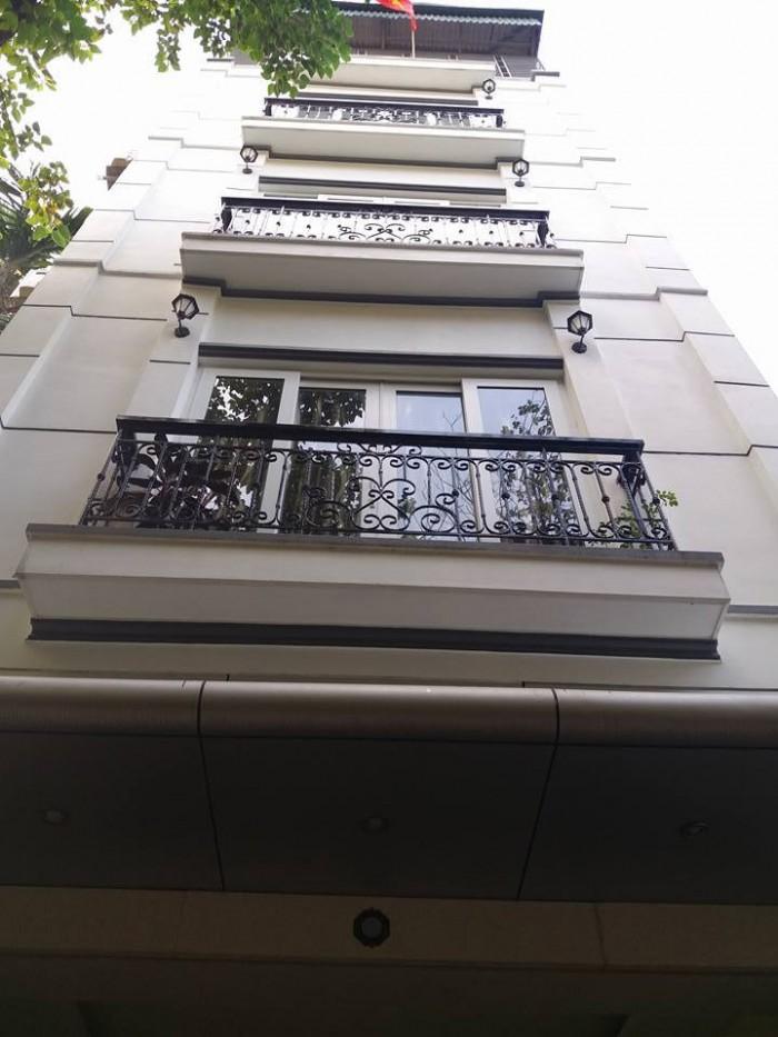 Cần bán nhà phố Hoàng Ngân,có thang máy 7 tầng,Ô tô đỗ cửa. DT 80m2.Mặt tiền 4,5m.