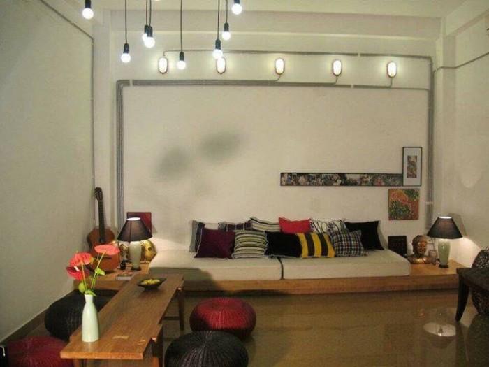 Cho thuê nhà MT đường Trần Bình TRọng, gần ngã 5, 5T-12phong kinh doanh tốt.