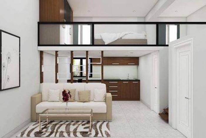 Cho thuê nhà dài hạn Mt 2 lô liền kề đường Chi Lăng, nhà trống tiện kinh doanh.
