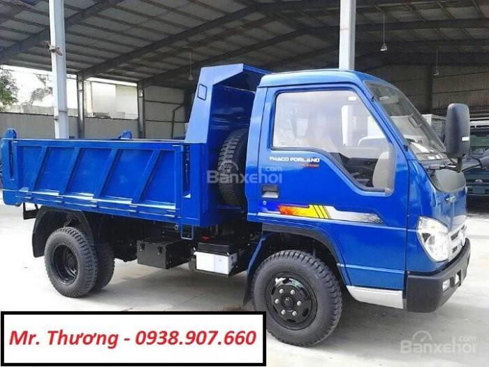 Bán xe Ben Thaco FLD345C ( 3,45 tấn ) - Dòng xe ben nhẹ, tiện nghi, dễ sử dụng