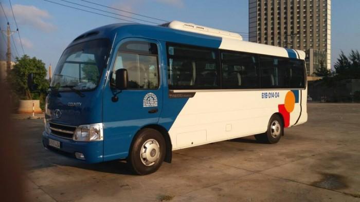 Cho thuê xe có tài xế 4-45 chỗ,phục vụ 24/24h giá bình dân tai thành phố hồ chí minh