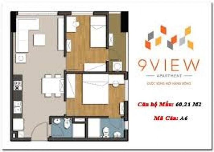 Căn hộ 9 View Apartment Ngã 4 Bình Thái - Đỗ Xuân Hợp chỉ 970tr/căn, 58m2,2PN,2WC