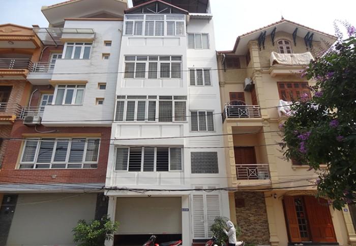 Bán nhà Hoàng Cầu, 50m, gara ô tô , 7 tầng, thang máy, giá 14.2 tỷ.