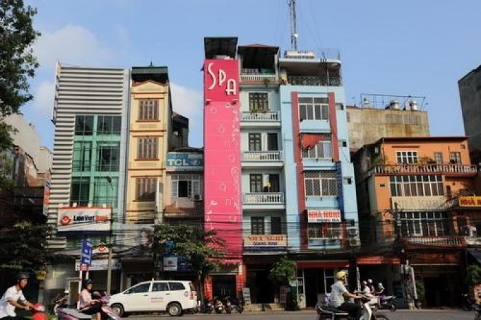 Bán nhà mặt phố Hoàng Quốc Việt, Cầu Giấy, Lô góc, vị trí đẹp giá trên 20 tỷ