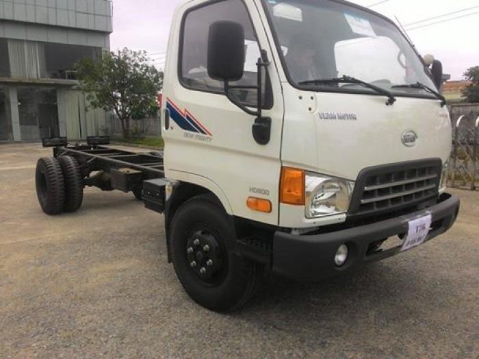 Xe hyundai nâng tải HD800 tải trọng chở 8 tấn